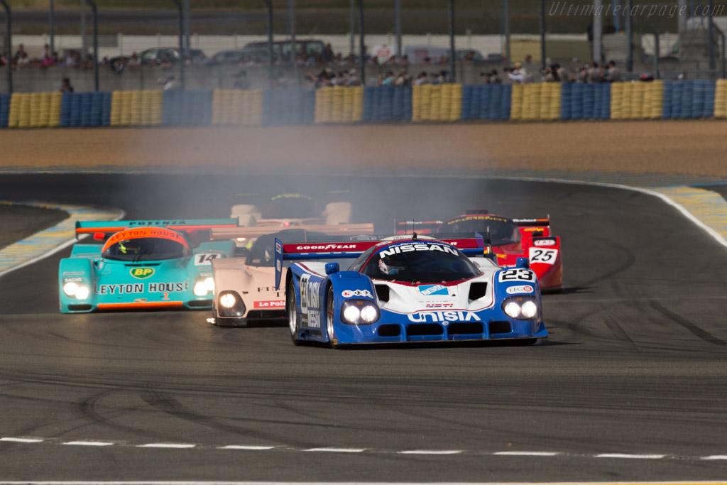 Nissan R90C - Chassis: R90C/5 - Driver: Katsu Kubota  - 2016 Le Mans Classic