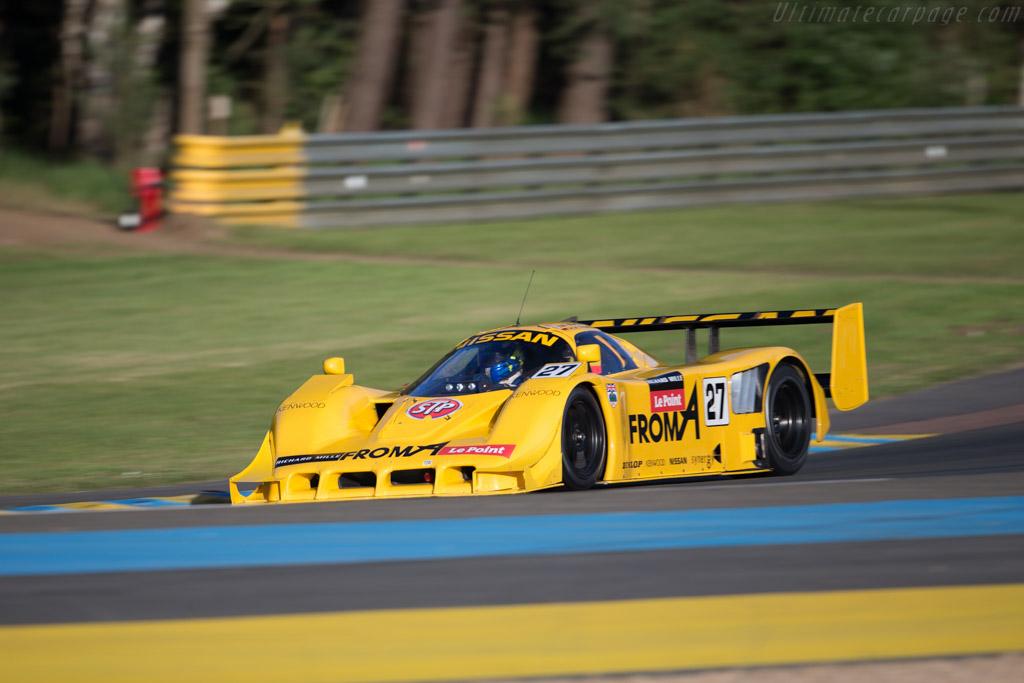 Nissan R93CP - Chassis: R90C/7 - Driver: Richard Evans  - 2016 Le Mans Classic