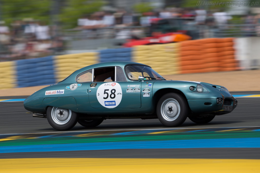 Panhard CD - Chassis: 148 - Driver: Jacky Laguerre / Daniel Thomas Caggiano  - 2016 Le Mans Classic