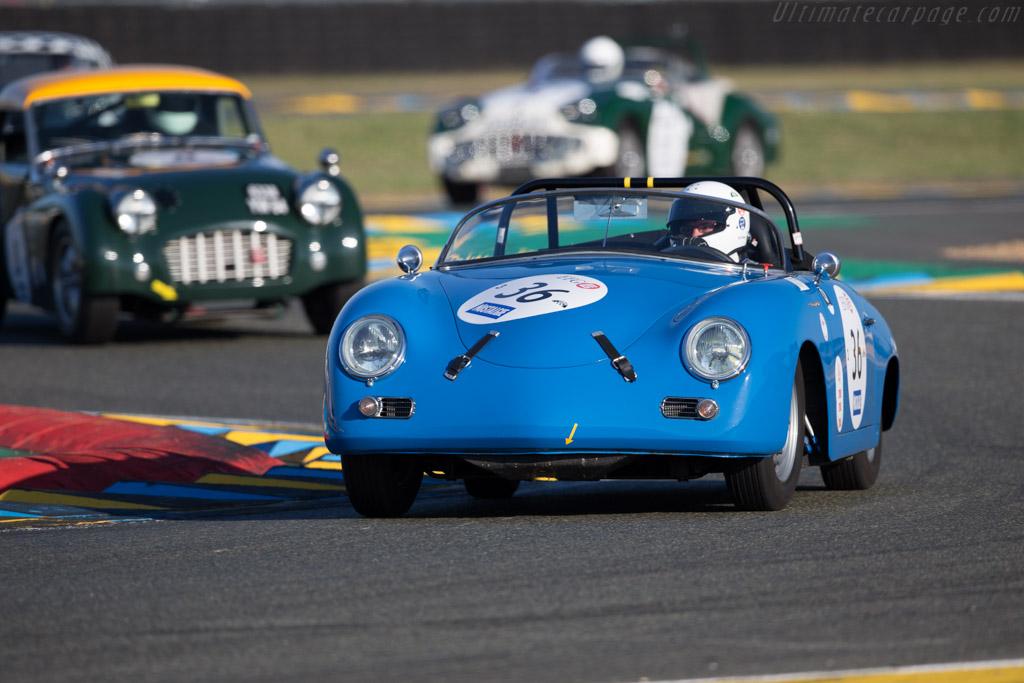 Porsche 356a Gt Speedster Chassis 83839 Driver Joff