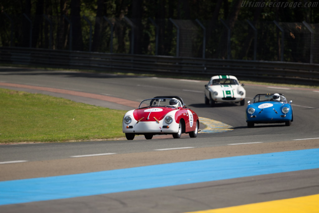 Porsche 356A GT Speedster - Chassis: 84940 - Driver: Bill Stephens / Will Stephens  - 2016 Le Mans Classic