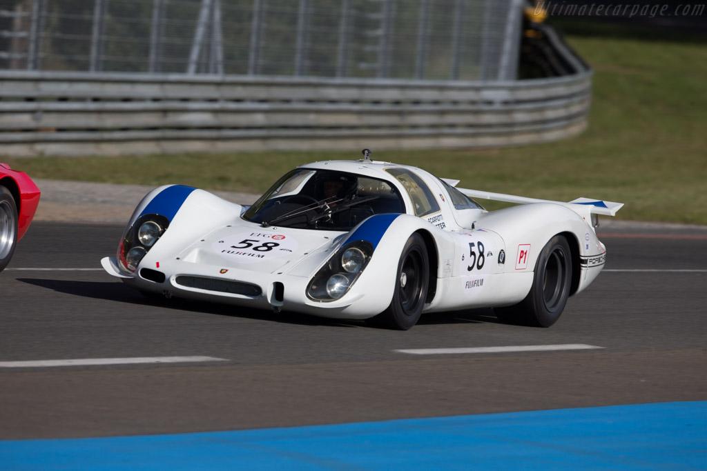 Porsche 908 LH - Chassis: 908-004 - Driver: Gijs van Lennep / Jean-Philippe Grand / Lionel Robert  - 2016 Le Mans Classic