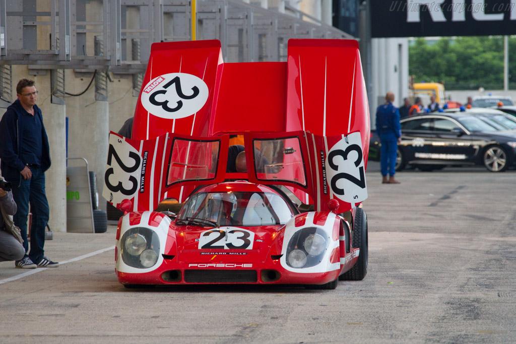 Porsche 917K  - Driver: Carlos Monteverde / Gary Pearson  - 2016 Le Mans Classic