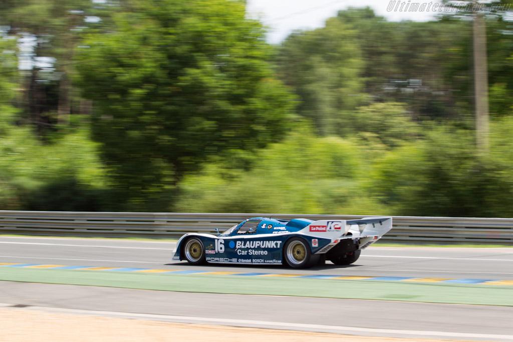 Porsche 962 - Chassis: 962-120 - Driver: Zak Brown  - 2016 Le Mans Classic