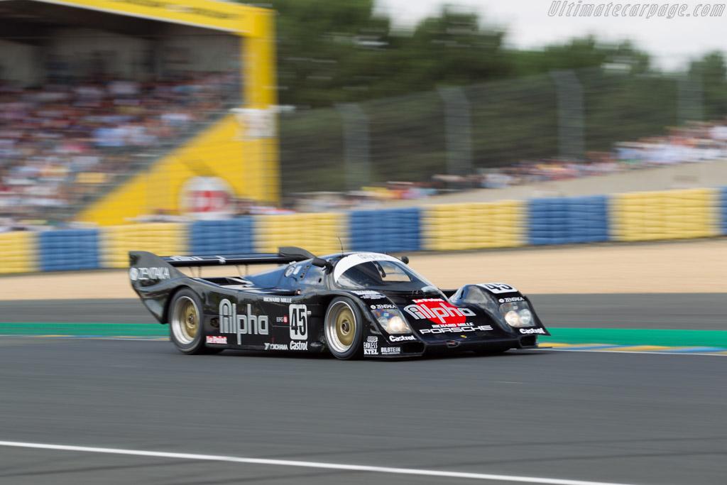 Porsche 962C - Chassis: 962-154 - Driver: Pierre-Alain France / Erwin France  - 2016 Le Mans Classic