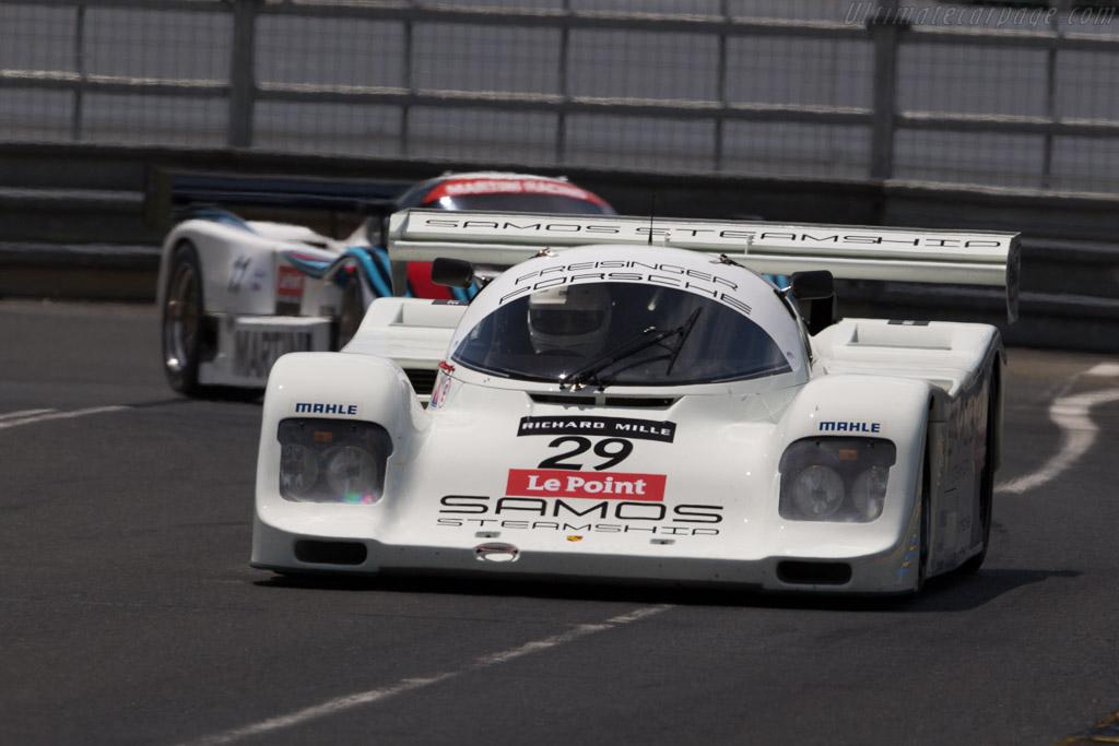 Porsche 962C - Chassis: 962-167 - Driver: John Inglessis / Antonius Trichas  - 2016 Le Mans Classic