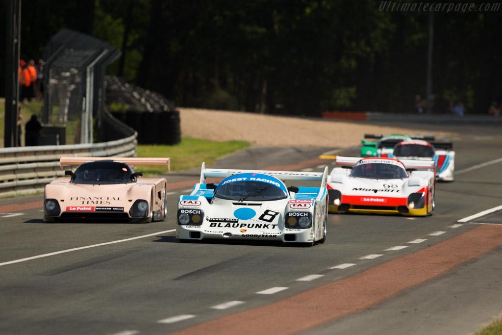 Porsche 962C - Chassis: 962-116 - Driver: George Nakas  - 2016 Le Mans Classic