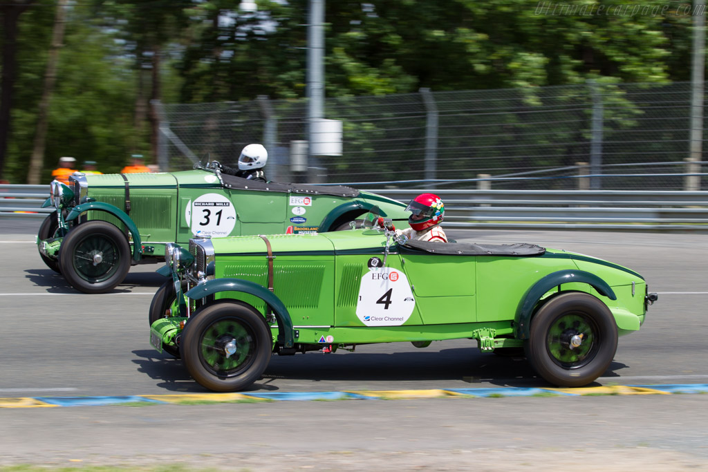 Talbot 105  - Driver: Michael Hinderer / Peter Hinderer / Martin Stretton  - 2016 Le Mans Classic