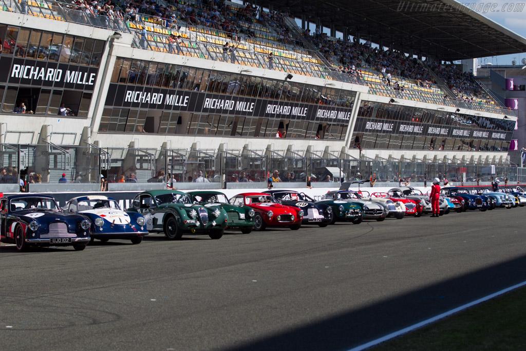The Grid    - 2016 Le Mans Classic