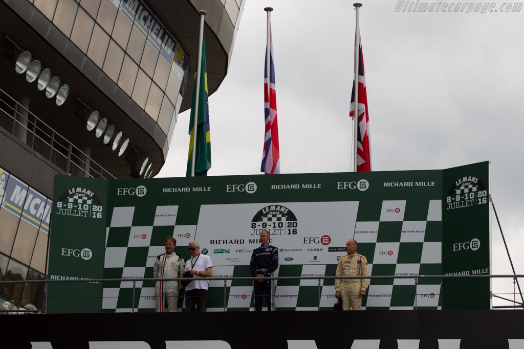 The winners    - 2016 Le Mans Classic
