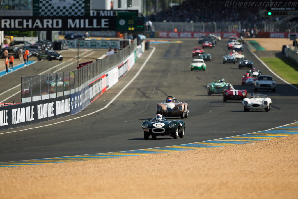 Welcome to Le Mans - Chassis: XKD 505 - Driver: Andy Wallace  - 2016 Le Mans Classic