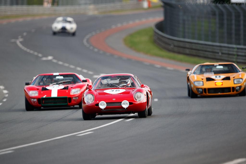 Abarth 1300 OT  - Driver: Akira Sugahara / Takahiro Morimasa  - 2018 Le Mans Classic
