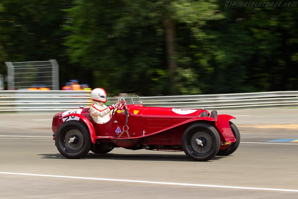 Alfa Romeo 8C 2300 Monza - Chassis: 2111090 - Driver: Nicolas D'Ieteren / Frédéric de Vuyst  - 2018 Le Mans Classic