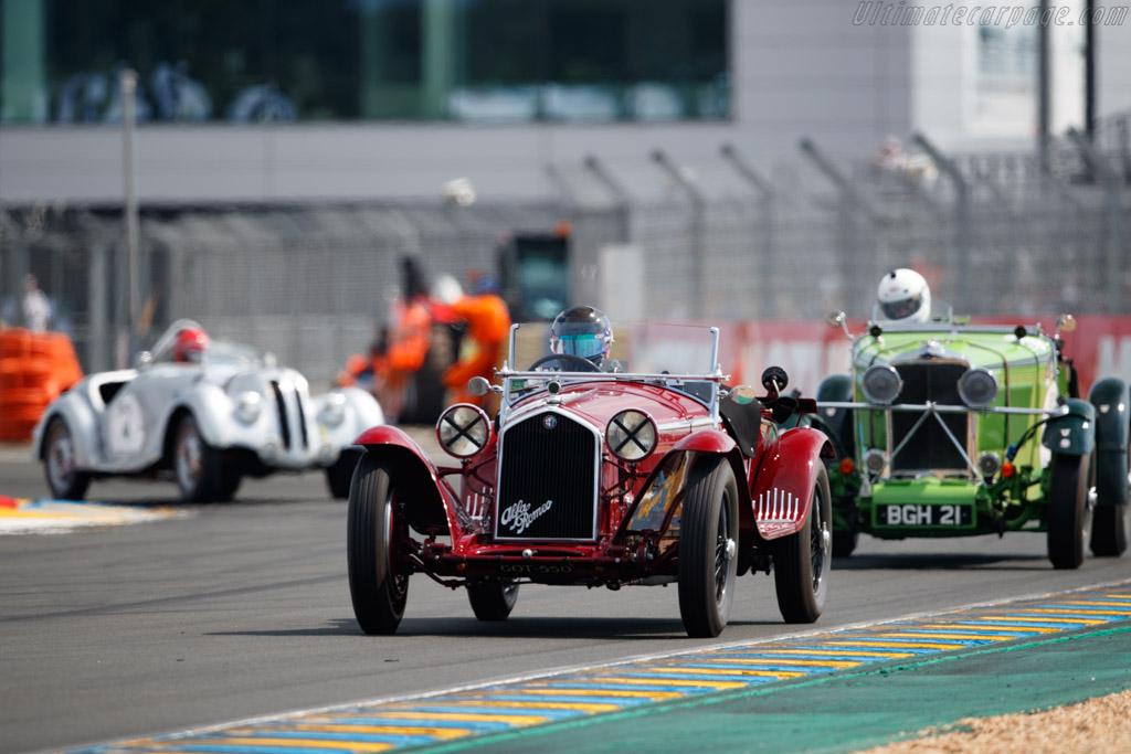 Alfa Romeo 8C 2300 Zagato - Chassis: 2111034 - Driver: Martin Halusa / Nicola von Dönhoff  - 2018 Le Mans Classic