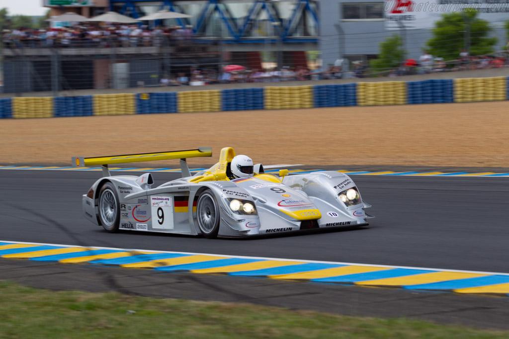 Audi R8 LMP - Chassis: 405 - Driver: David Clark  - 2018 Le Mans Classic