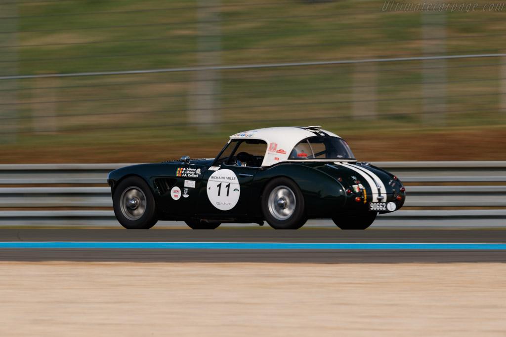 Austin Healey 3000 Mk2 - Chassis: HBT7L-8161 - Driver: Serge Libens  - 2018 Le Mans Classic
