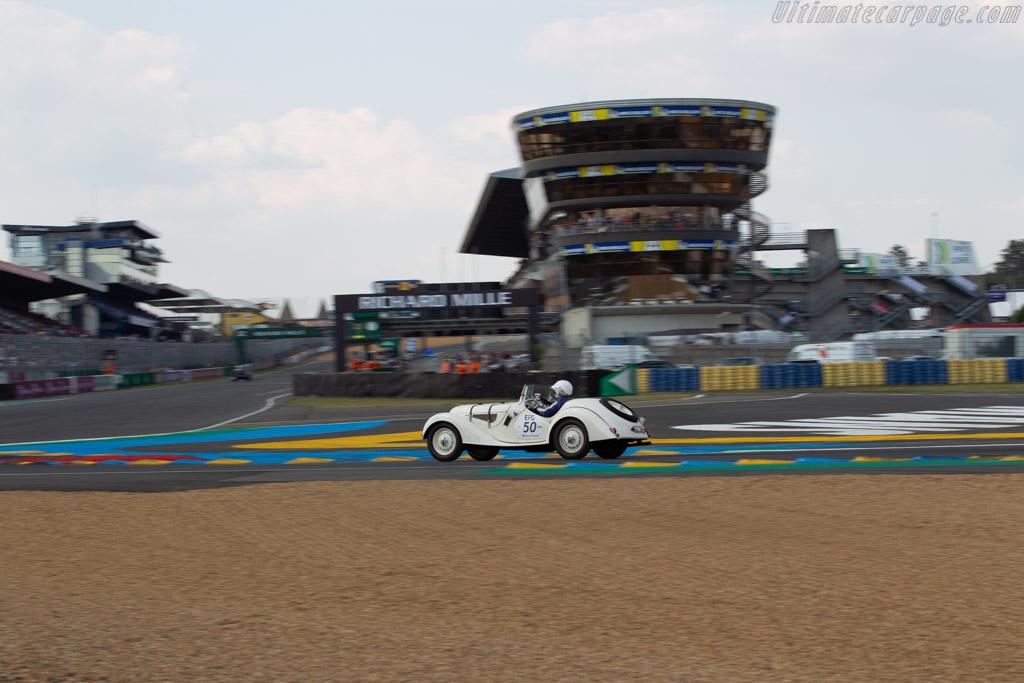 BMW 328  - Driver: Ricci / Frédéric Stoesser  - 2018 Le Mans Classic