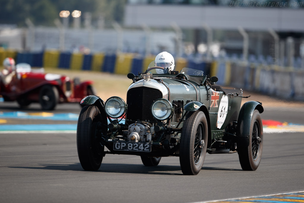 Bentley Blower - Chassis: DS3573 - Driver: Martin Overington  - 2018 Le Mans Classic