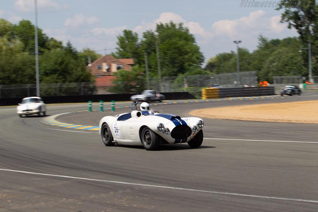 Cunningham C4R  - Driver: Alain Rüede  - 2018 Le Mans Classic