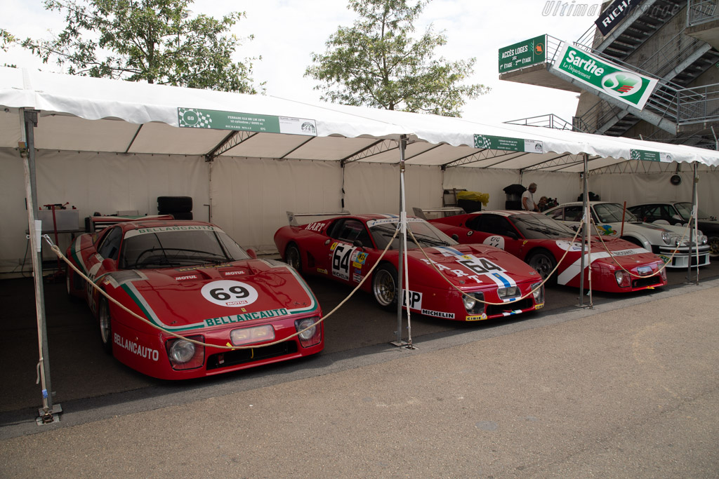 Ferrari 512BB/LM - Chassis: 28601 - Driver: Mister John of B. / Soheil Ayari  - 2018 Le Mans Classic