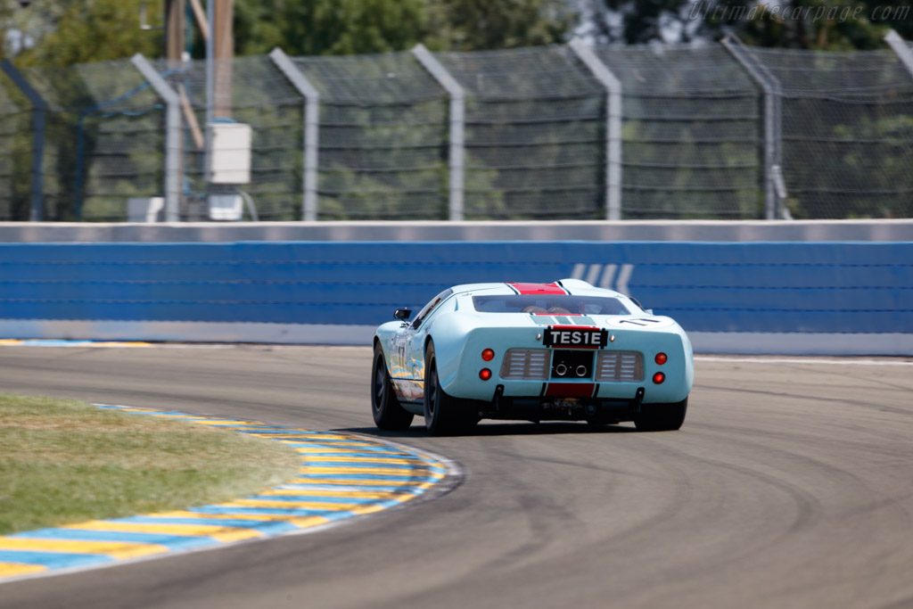 Ford GT40 - Chassis: GT40P/1025 - Driver: Shaun Lynn  - 2018 Le Mans Classic