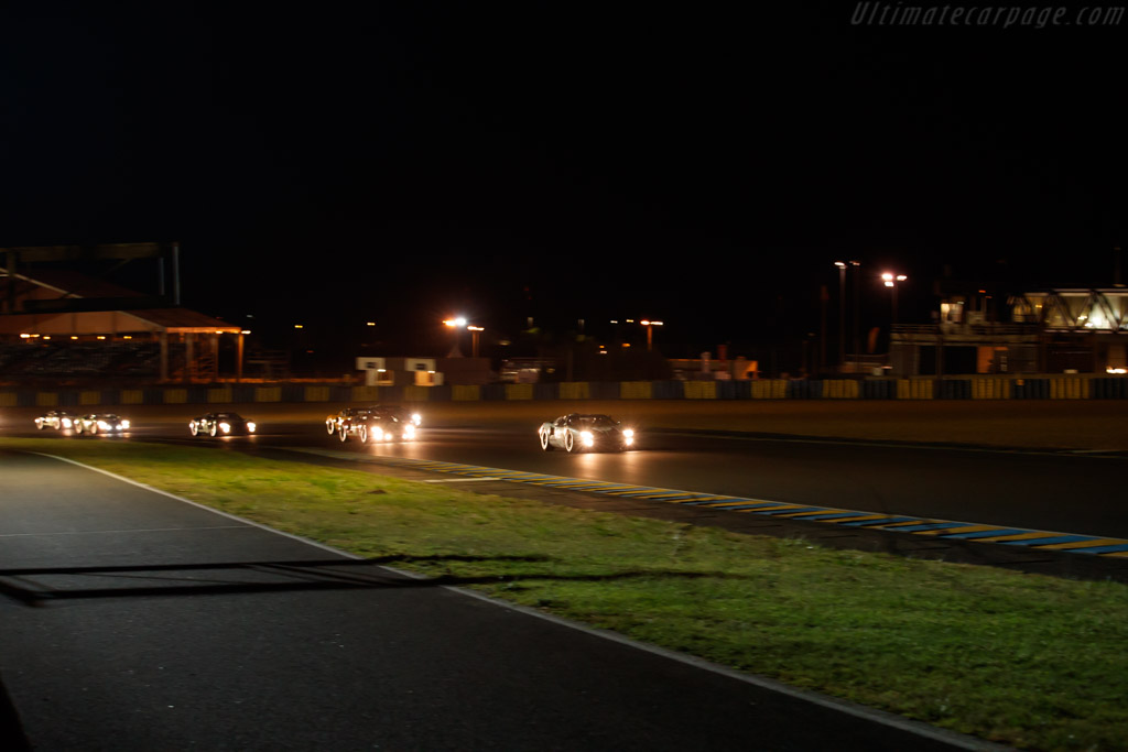 Ford GT40  - Driver: James Cottingham / Joe Twyman  - 2018 Le Mans Classic