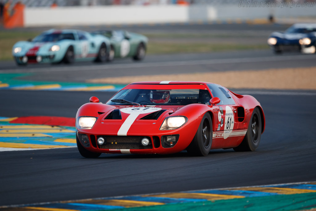 Ford GT40 - Chassis: GT40P/1022 - Driver: Diogo Ferrao  - 2018 Le Mans Classic