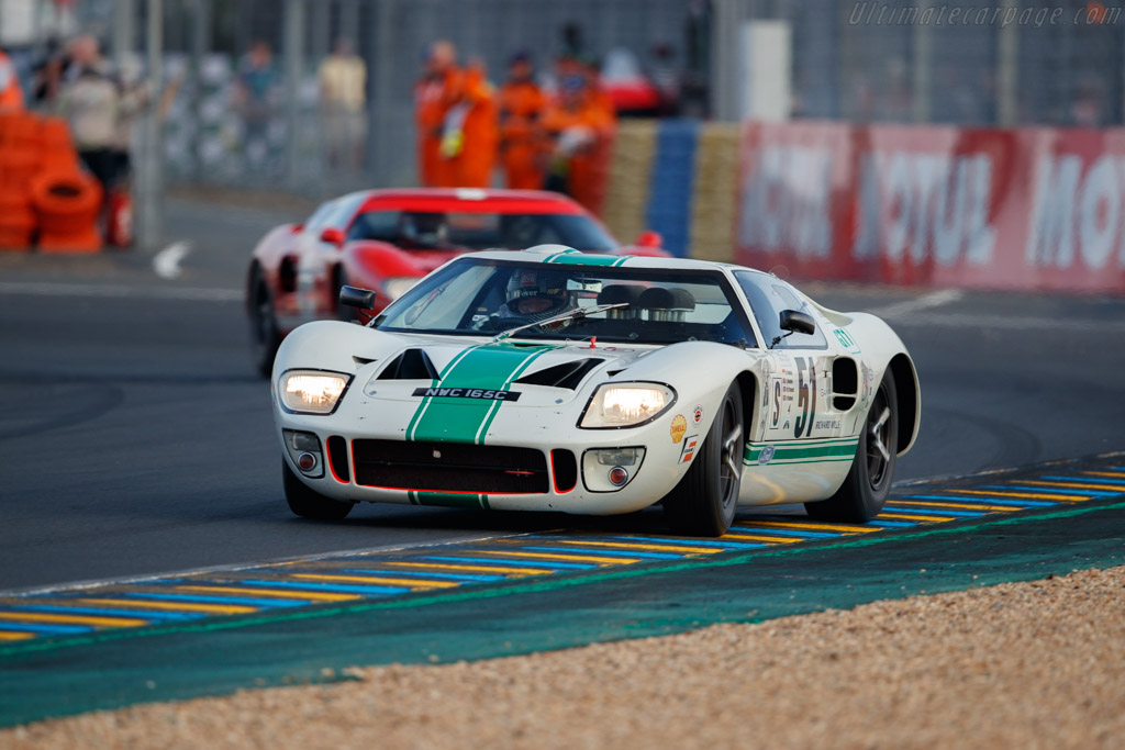 Ford GT40  - Driver: Grant Tromans / Dickie Meaden / Martin O'Connell  - 2018 Le Mans Classic