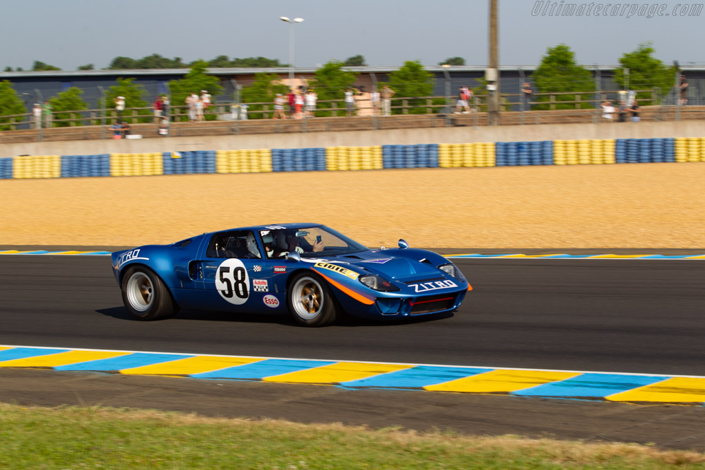 Ford GT40 - Chassis: GT40P/1033   - 2018 Le Mans Classic