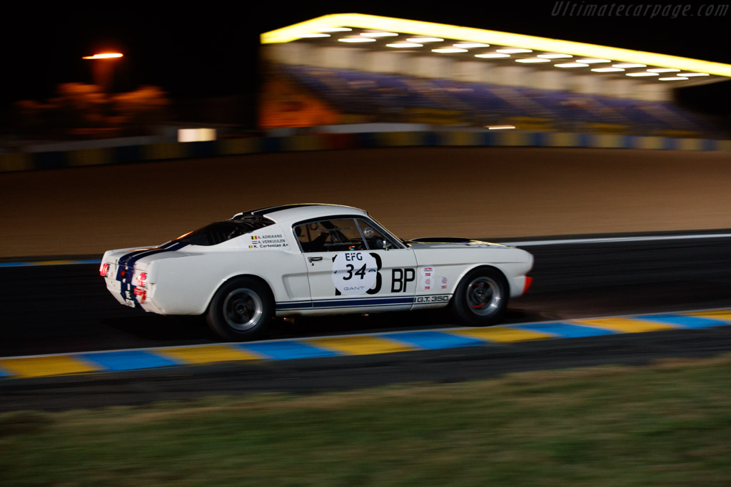 Ford Shelby Mustang 350 GT - Chassis: SFM5S168 - Driver: Armand Adriaans   - 2018 Le Mans Classic