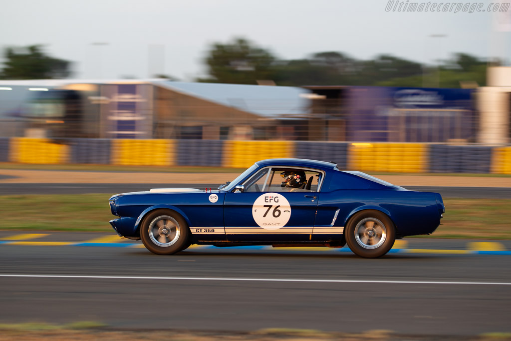 Ford Shelby Mustang 350 GT  - Driver: Adam Lindemann / Jim Pace  - 2018 Le Mans Classic