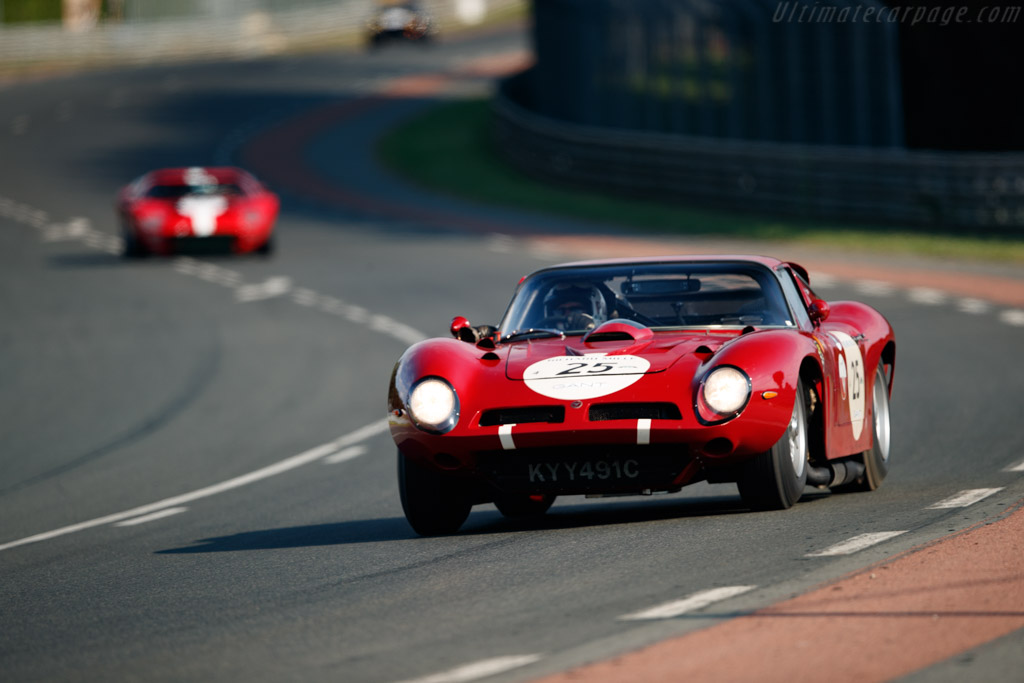 Iso A3/C Grifo Competizione - Chassis: BA4 0106 - Driver: Patrick Blakeney-Edwards / Spencer Trenery - 2018 Le Mans Classic