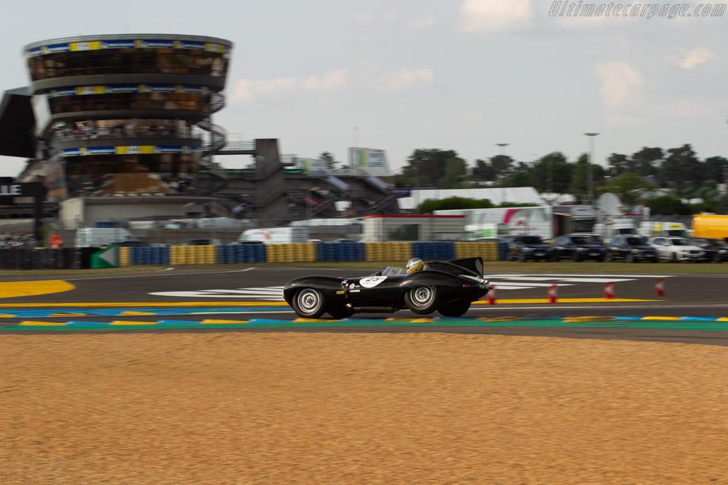 Jaguar D-Type  - Driver: Steve Brooks / Andy Smith  - 2018 Le Mans Classic