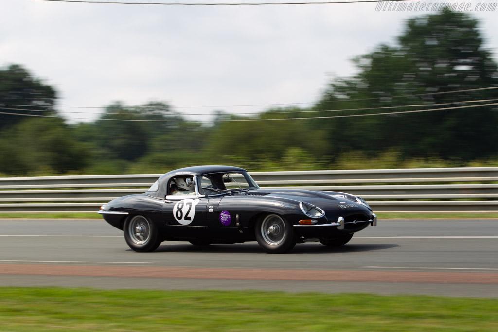 Jaguar E-Type  - Driver: Bob Binfield  - 2018 Le Mans Classic