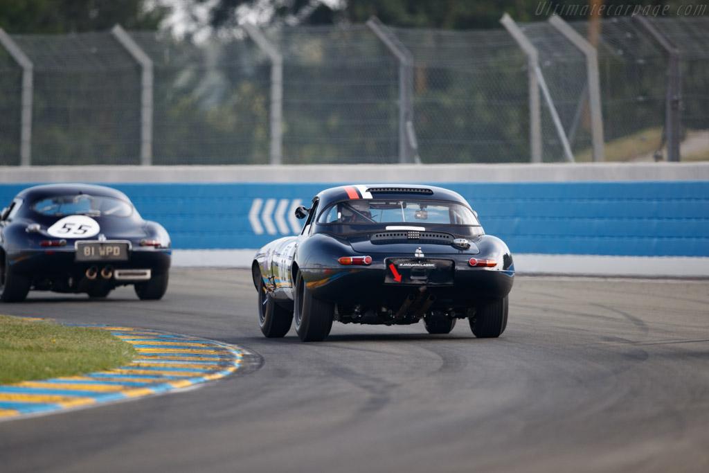 Jaguar E-Type - Chassis: 879281 - Driver: Charles de Villaucourt / Ghislain Borelly  - 2018 Le Mans Classic