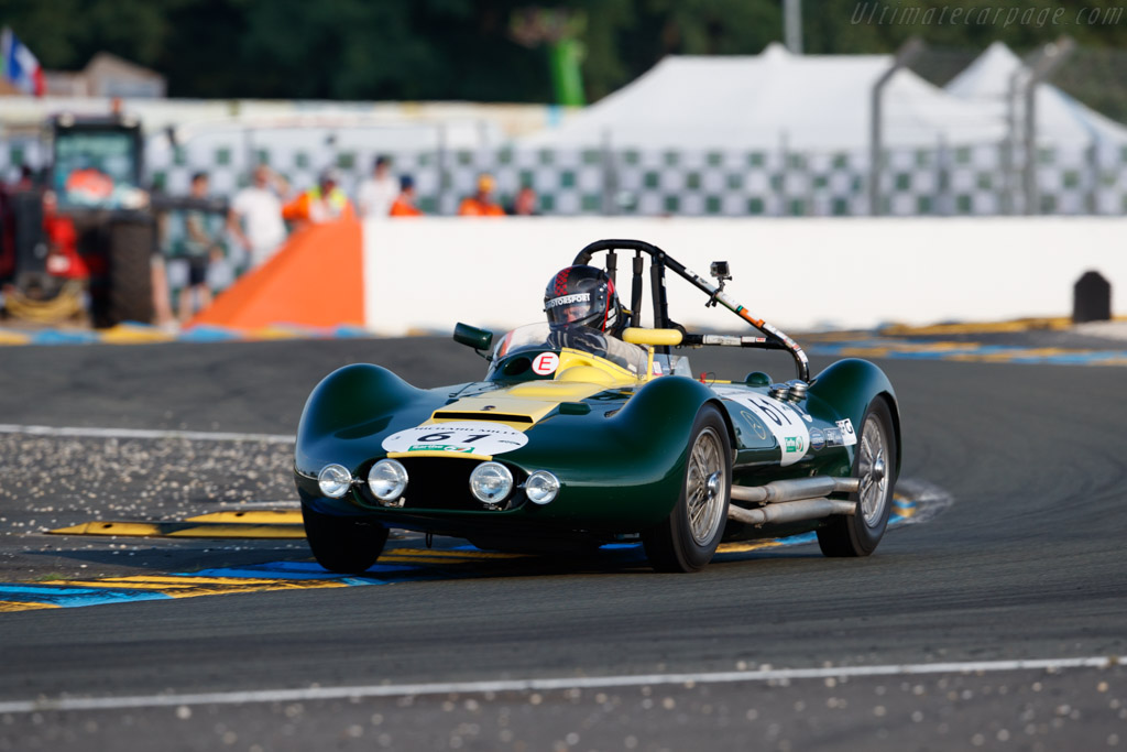 Lister Maserati - Chassis: BHL1 - Driver: Nick Riley / Benjamin Short  - 2018 Le Mans Classic