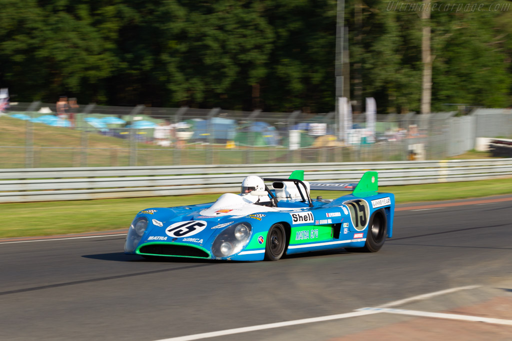 Matra MS660 - Chassis: 660-01 - Driver: Yvan Mahe - 2018 Le Mans Classic