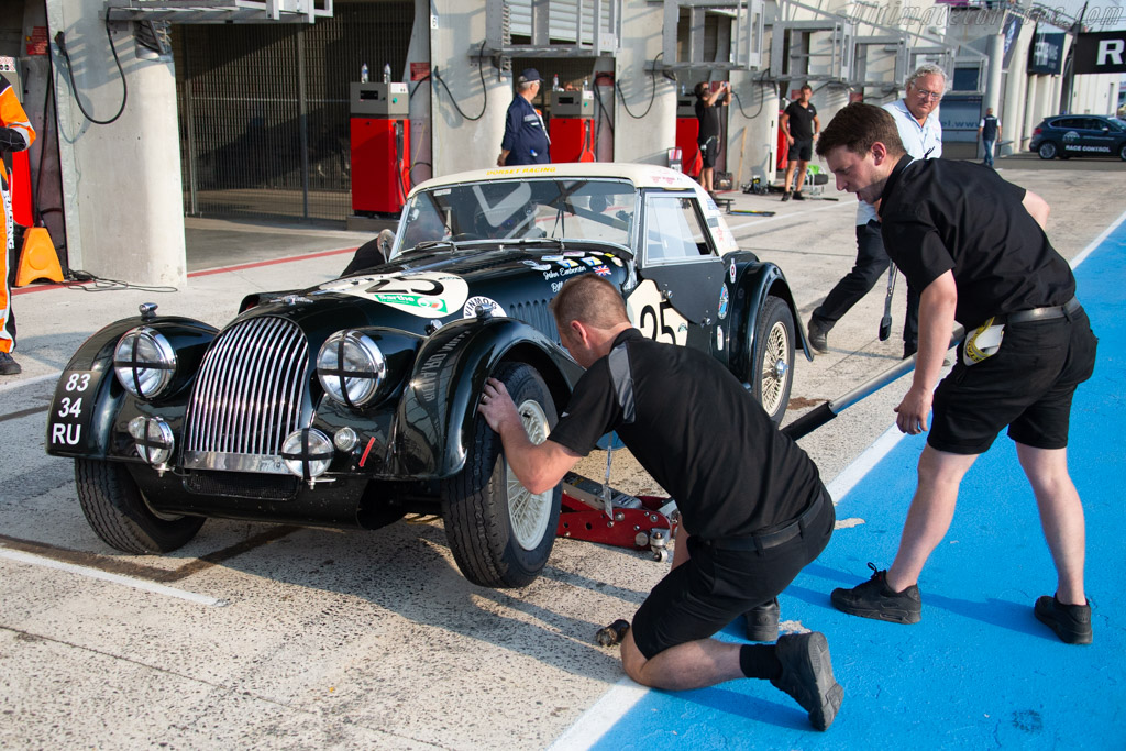 Morgan +4 SS - Chassis: 4866 - Driver: John Emberson / Mike Bell  - 2018 Le Mans Classic