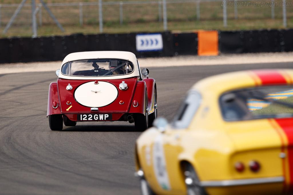 Morgan +4 SS - Chassis: 5125 - Driver: Gaël Regent / Jérémy Garamond  - 2018 Le Mans Classic