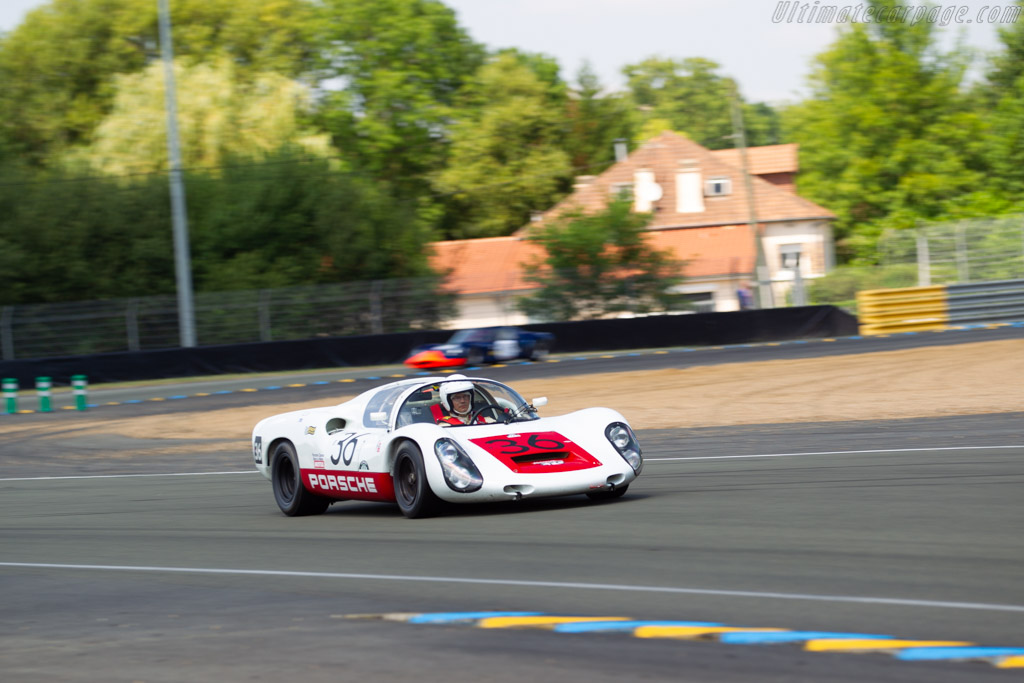 Porsche 910 - Chassis: 910-005 - Driver: Uwe Bruschnik  - 2018 Le Mans Classic