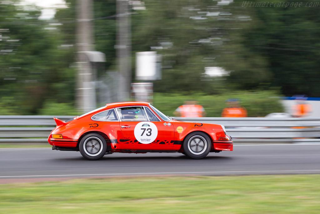 Porsche 911 Carrera RSR 2,8L  - Driver: Camilo Steuer  - 2018 Le Mans Classic