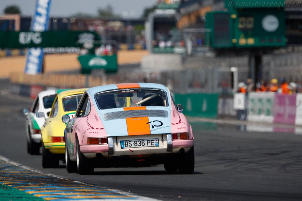 Porsche 911 S 2,2L  - Driver: Guillaume Gouble  - 2018 Le Mans Classic