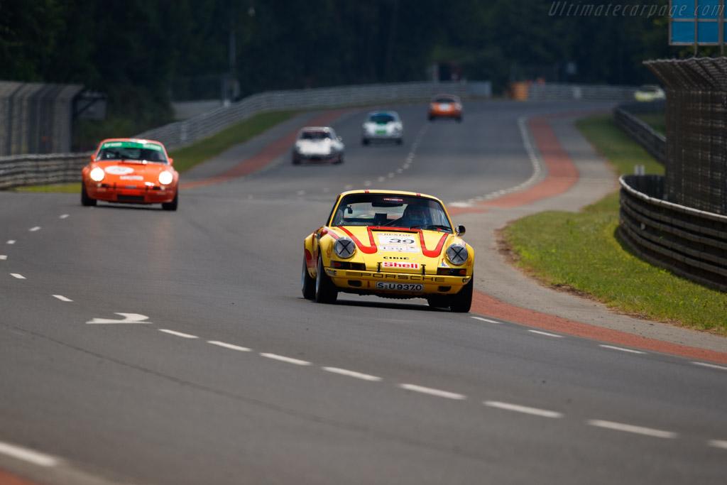Porsche 911 ST 2.5 - Chassis: 911 030 1127 - Driver: Gérard Larrousse  - 2018 Le Mans Classic