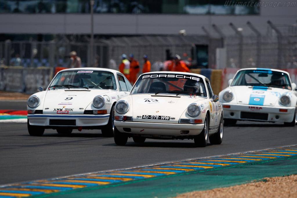 Porsche 911 T  - Driver: Philippe Goutard - 2018 Le Mans Classic