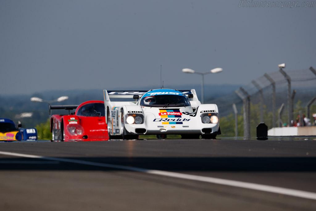 Porsche 962C - Chassis: 962-166 - Driver: Mischa Strijder  - 2018 Le Mans Classic