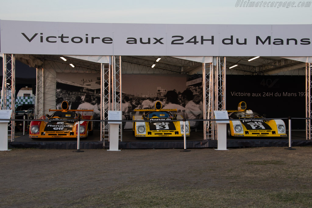 Renault Alpine    - 2018 Le Mans Classic