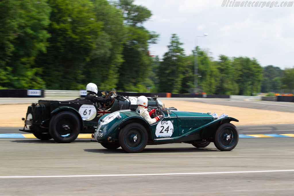 Riley MPH  - Driver: Laurent Philippe / Yves-Henry Menuteau  - 2018 Le Mans Classic