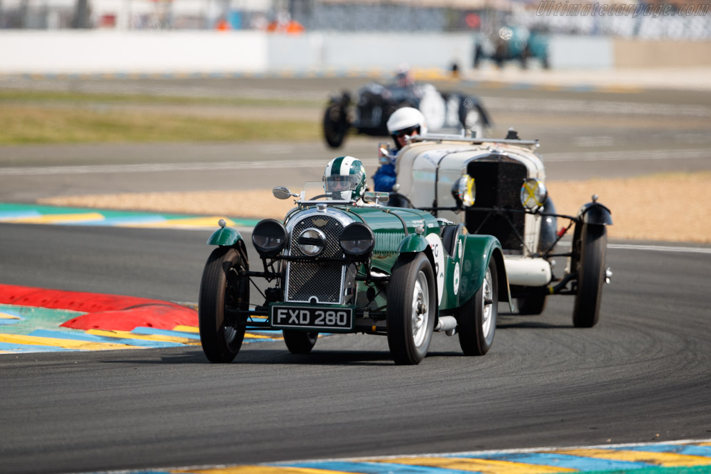 Singer Le Mans - Chassis: LM70 - Driver: Anthony Schrauwen  - 2018 Le Mans Classic