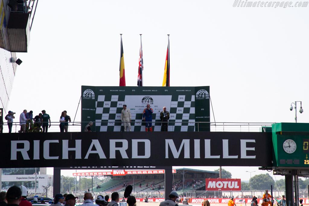 The Podium    - 2018 Le Mans Classic