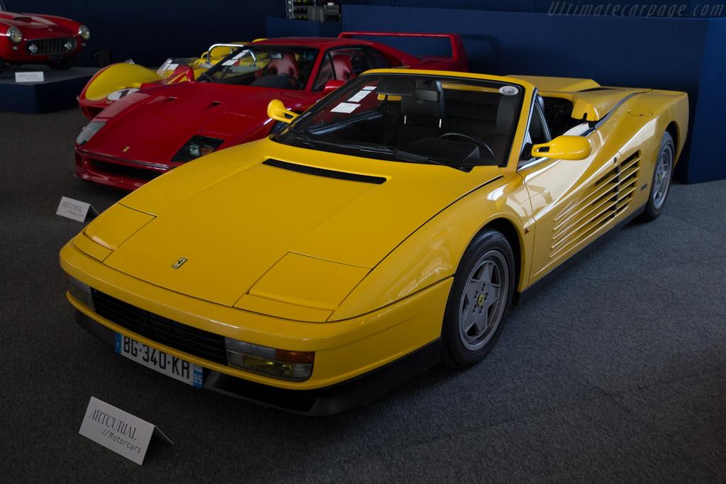 Ferrari Testarossa - Chassis: 81586   - 2016 Le Mans Classic